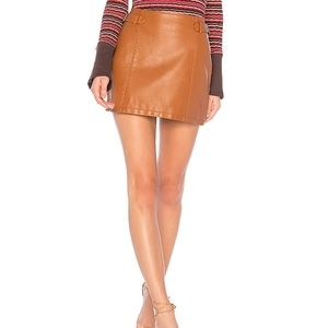 NWT Free People Charli A Line Skirt